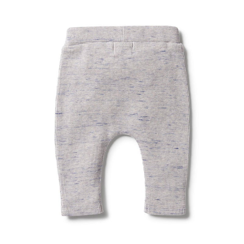 Waffle Slouch Pant in Glacier Grey Fleck by Wilson & Frenchy | Stitch Piece Loop | Online + In Store | Noosa Heads | Shop a unique blend of Australian boutique fashion, gift & homewares, baby & children's clothing, & designer hand knitting yarn & craft fabric | Free Shipping on orders $50 & over