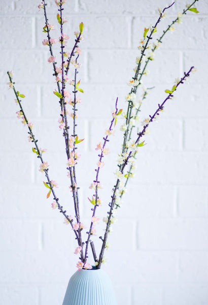 Artificial Flower White Plum Blossom