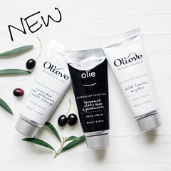 Olieve & Olie Hand Cream Tube & Box