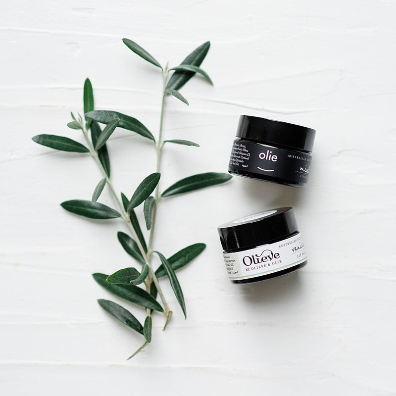 Olieve & Olie Lip Balm Australian Made Organic Body Products Stitch Piece Loop Noosa Heads Shop Online Australia