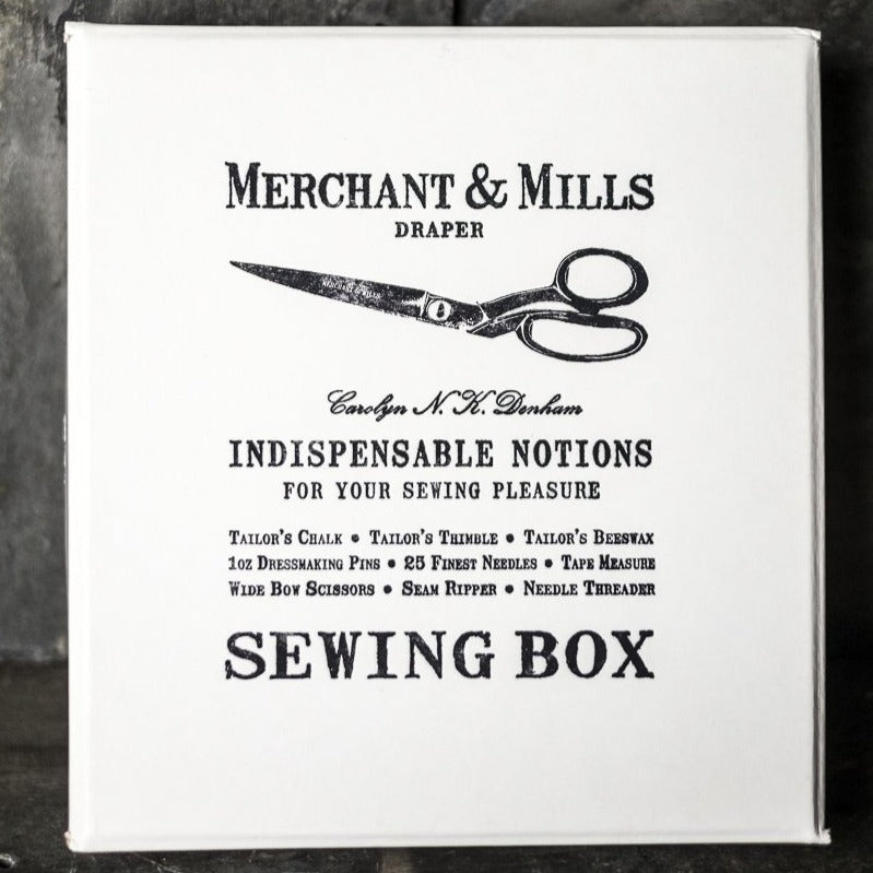 Selected Notions Box | Merchant & Mills | Shop In Store + Online | Stitch Piece Loop | Handmade Fashion Accessories Homewares + M