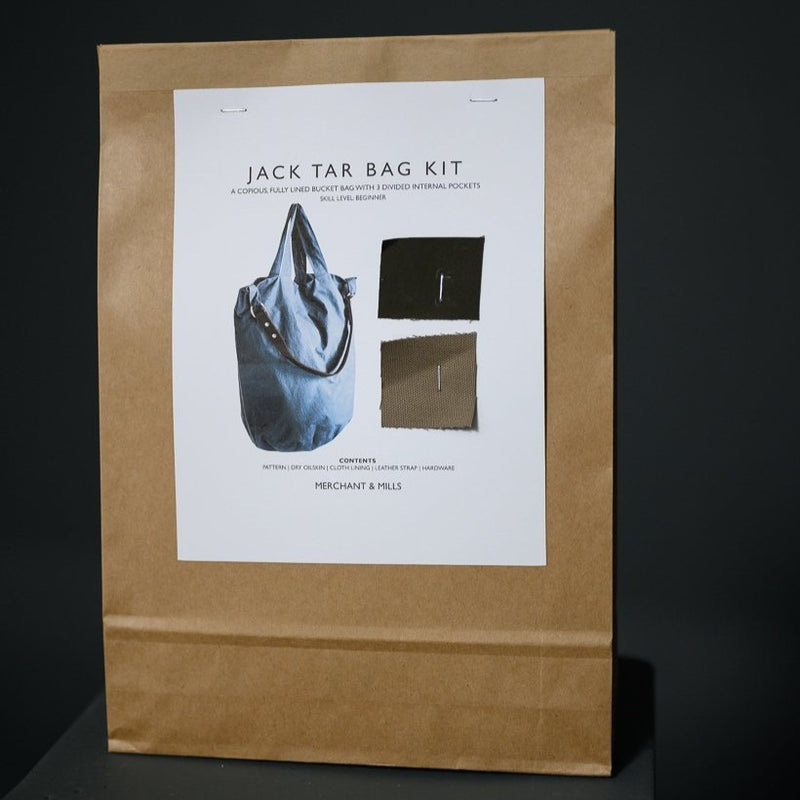 Jack Tar Complete Bag Kit - Khaki | Merchant & Mills | Shop In Store + Online | Stitch Piece Loop | Handmade Fashion Accessories Homewares + Modern Craft Supplies | Australia