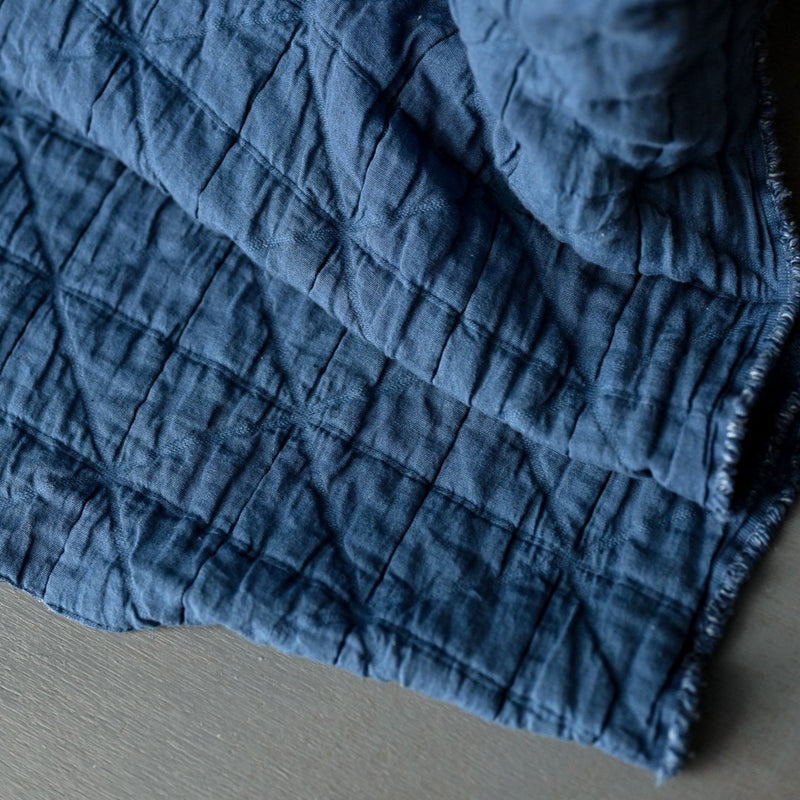 Jacquard Cotton in Ahoy | Merchant & Mills designer sewing fabric | Stitch Piece Loop | Online + In Store | Shop a unique blend of boutique fashion, home & gift ware, baby clothing, toys, & designer hand knitting yarn & sewing fabric | Noosa Heads