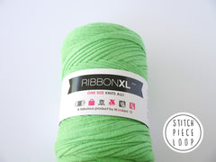 Salad Green Ribbon XL Hoooked Stitch Piece Loop Shop Online