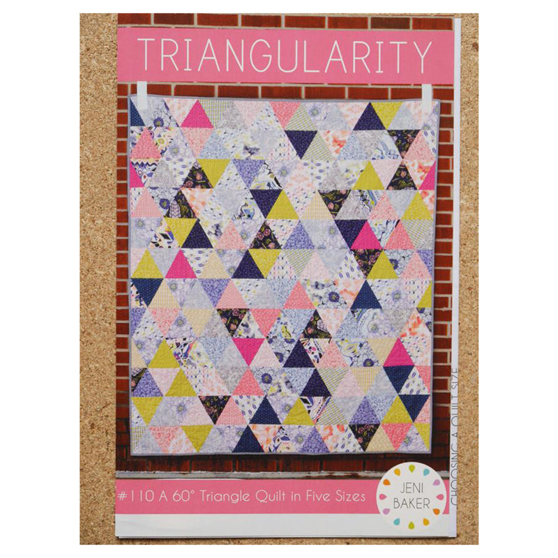 Triangularity Quilt Pattern