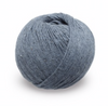 KPC Lovat DK in Denim Organic Cotton Cashmere & Silk Yarn for Knitting & Crochet Stitch Piece Loop Noosa Heads