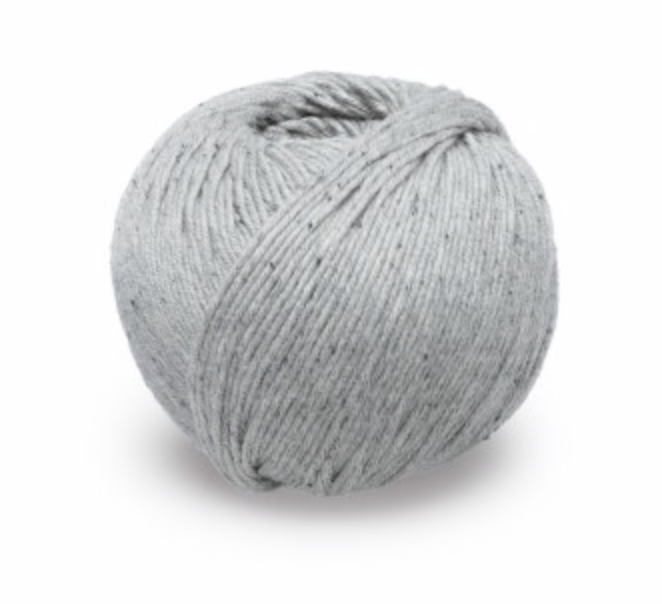KPC Lovat DK in Flannel Organic Cotton Cashmere & Silk Yarn for Knitting & Crochet Stitch Piece Loop Noosa Heads