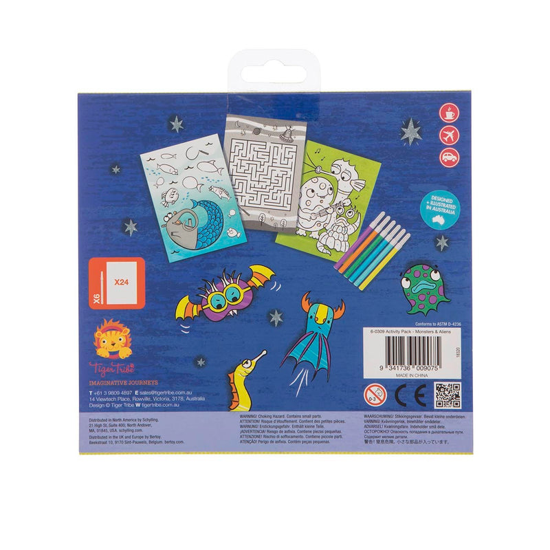 Activity Pack - Monsters & Aliens