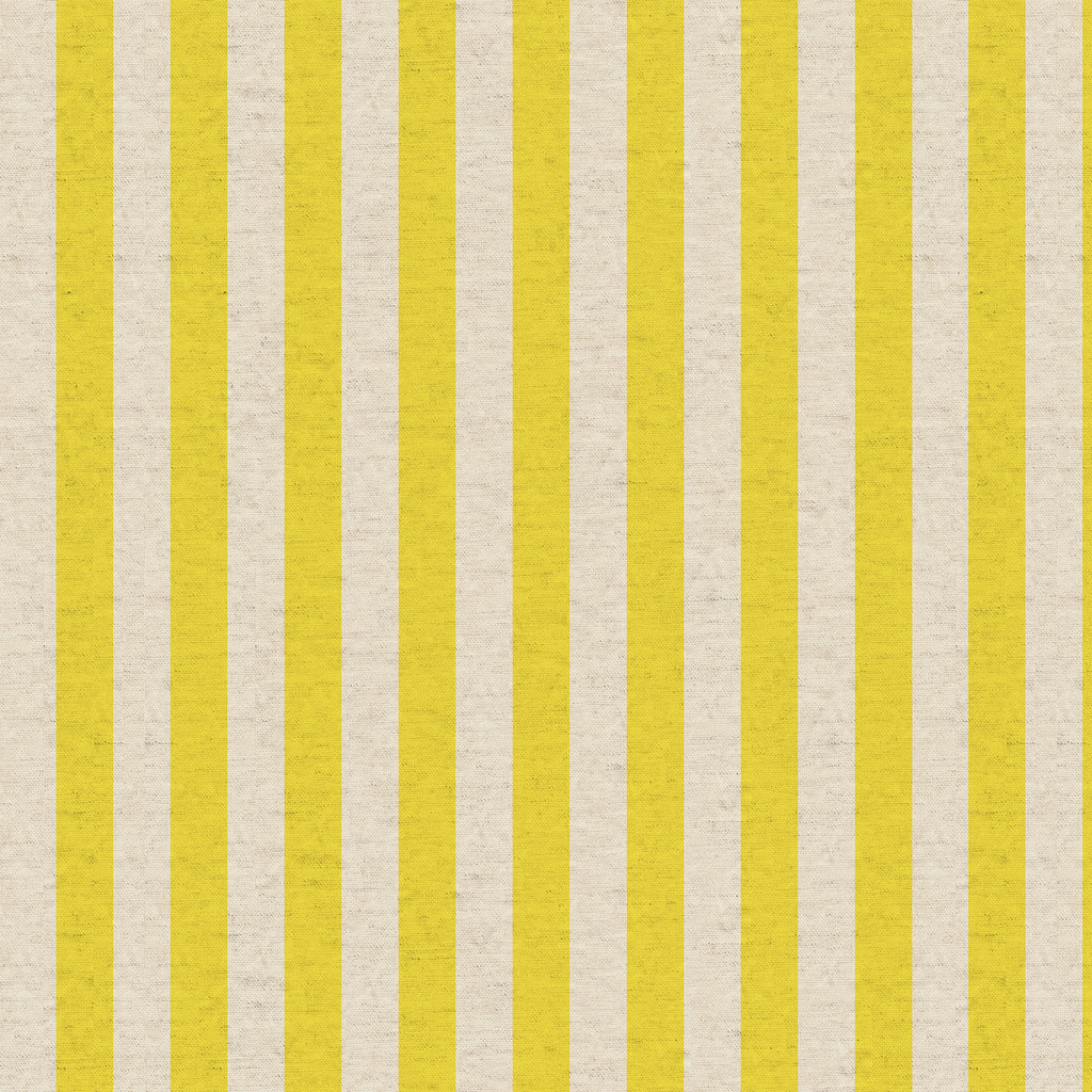 Cabana Stripe Yellow Linen Canvas | Primavera by Rifle Paper Co. | Cotton + Steel | Stitch Piece Loop | Shop Online + In Store | Home Fashion + Craft | Australia
