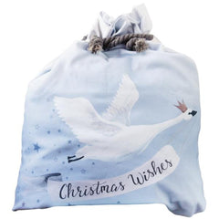 Christmas Wishes Santa Sack | Down To The Woods | Stitch Piece Loop | Shop In Store + Online | Fashion Home Gift Baby + Craft | Noosa Heads | Australia