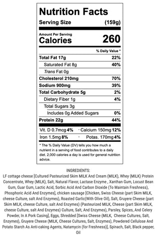 slayer eggs nutritional info and ingredients