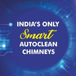 India's First Smart Auto Clean Technology Chimney Innova Music 90