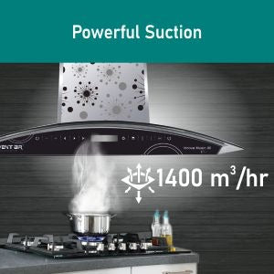 Powerful Maximum Suction by Ventair Chimney