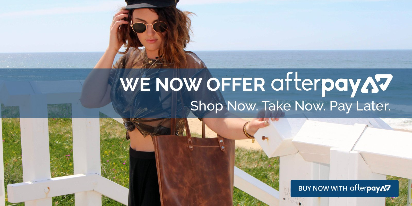 Aussie Bush Leather now offer Afterpay