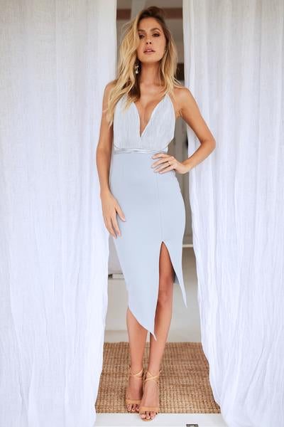Adoring Eyes Dress (Grey)