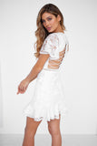 Alexia Lace Dress (White)