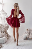 Bethany Dress (Wine)
