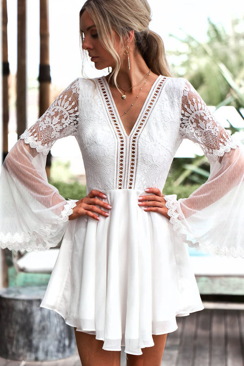 *Bethany Dress (White)