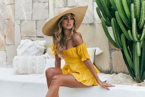 Bethany Playsuit (Yellow)