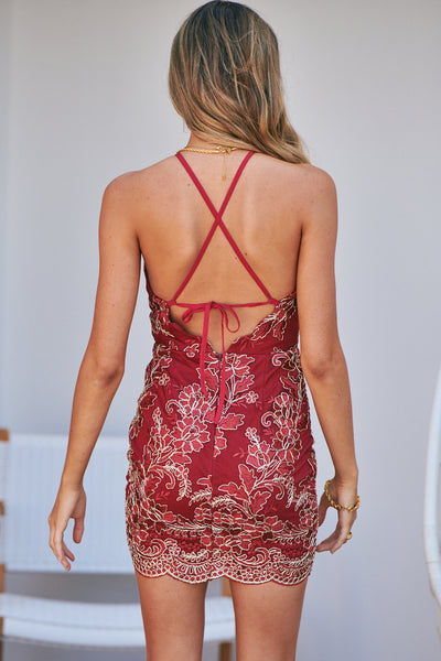 Breathtaking Dress (Red)
