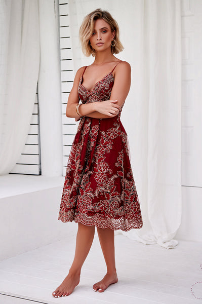 Breathtaking 2.0 Dress (Red)