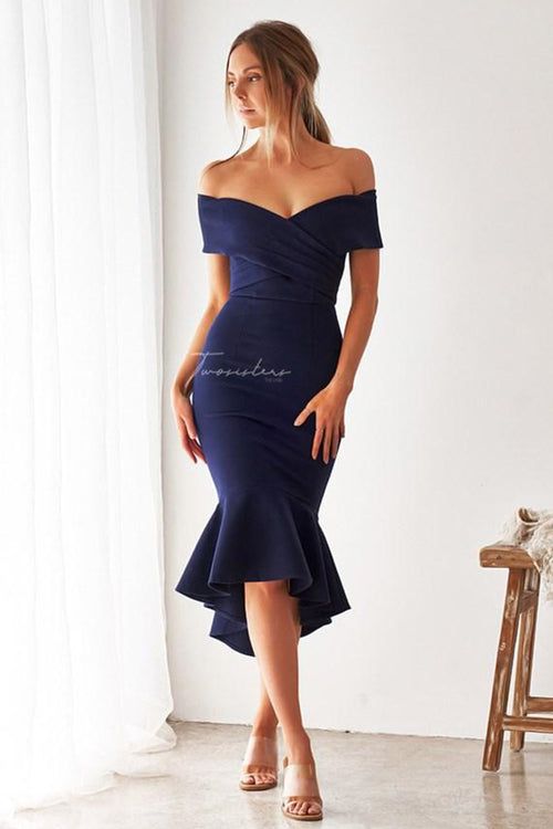 Brienne Dress (Navy)