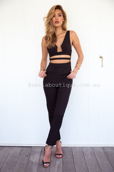 Status Nights Jumpsuit (Black)