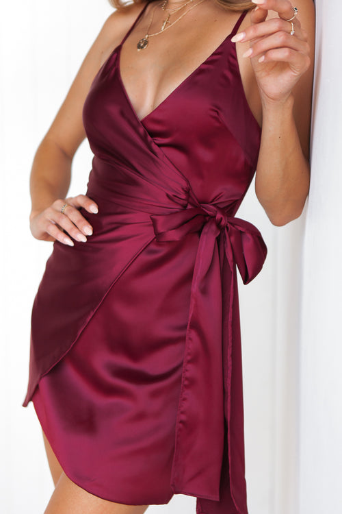 Desirable Dress (Plum)