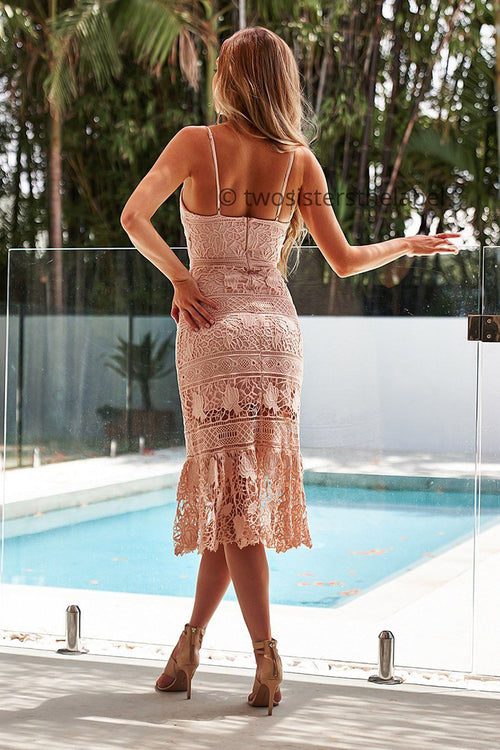 Estelle Dress (Blush)