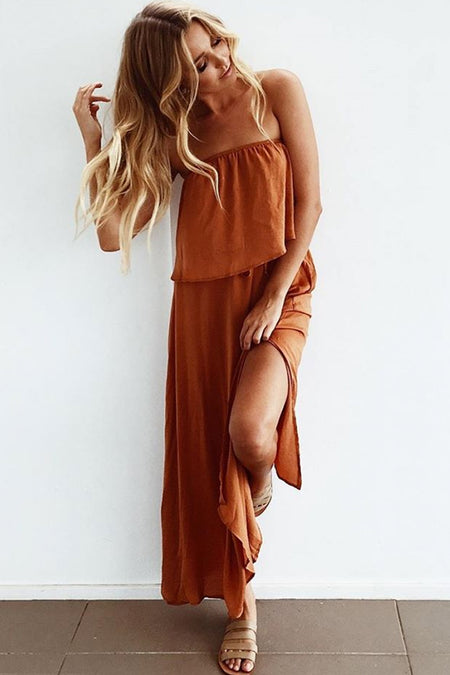 The Pamela One Piece (Orange)