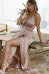 Girl On Fire Maxi Dress (Mocha)