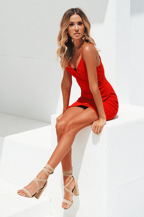 Glory Days Dress (Red)