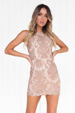 Inka Lace Dress (Mocha)