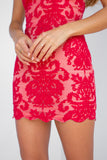 Inka Lace Dress (Red)