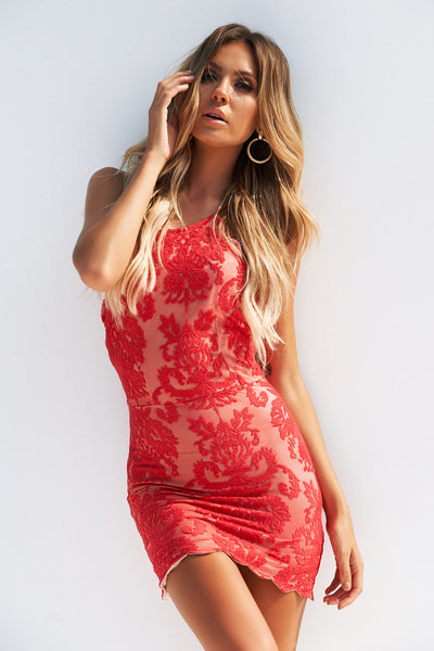 Inka Lace Dress, Red, Front, Bodycon Dress, Party Dresses, Homecoming Dresses, Sexy Dresses, Women's Fashion, Hottest Outfits, Semi Formal Dresses, Cocktail Dresses, Tight Dresses, Red Dress, Cute, Fashion, Style, Kardashian, Jenner, Trends, Backless Dresses