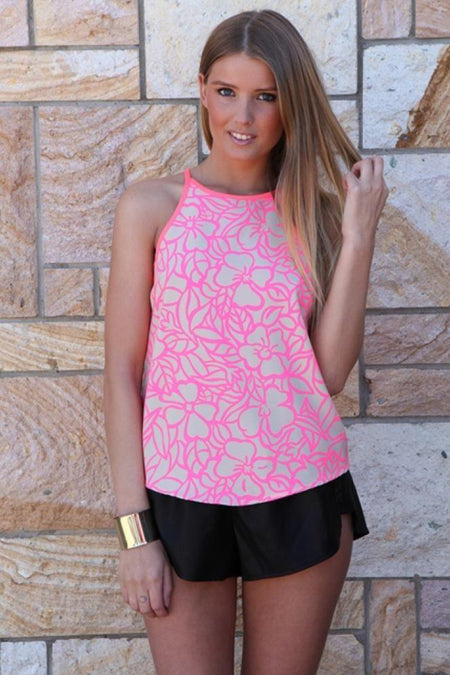 Secret Wishes Romper (Pink)