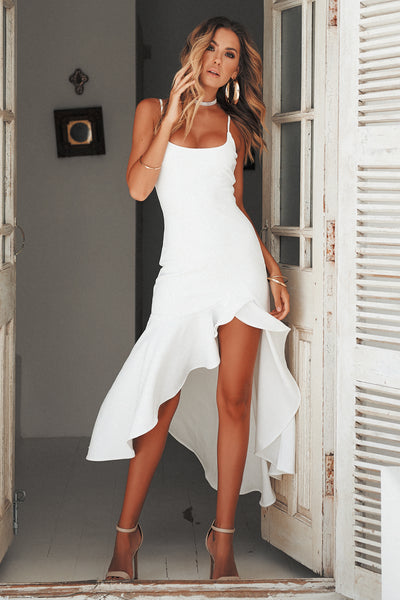 Key To Your Heart Maxi, white, Front