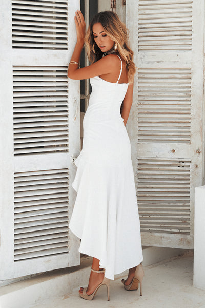 Key To Your Heart Maxi, white, Back