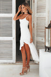 Key To Your Heart Maxi, White, Side