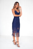 Khaleesi Dress (Navy)