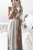 Luxe Sequin Maxi Dress - Gold - Xenia Boutique