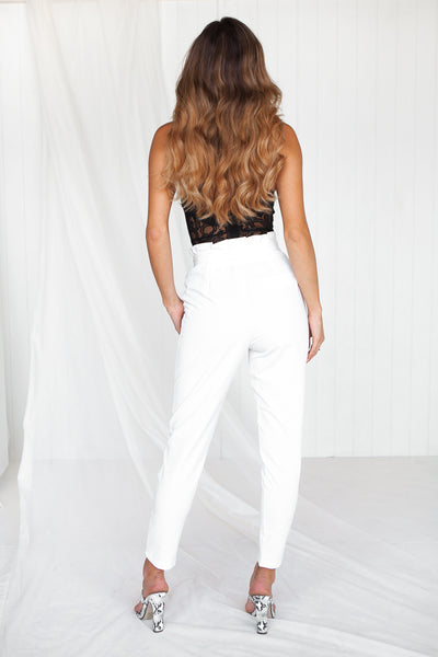 Sahara Pants (White) - SAMPLE SALE
