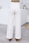 Louvre Pants (White) - BEST SELLER