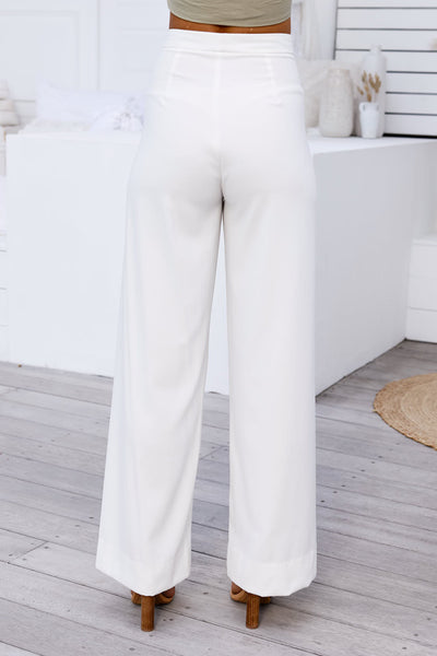 Louvre Pants (White)