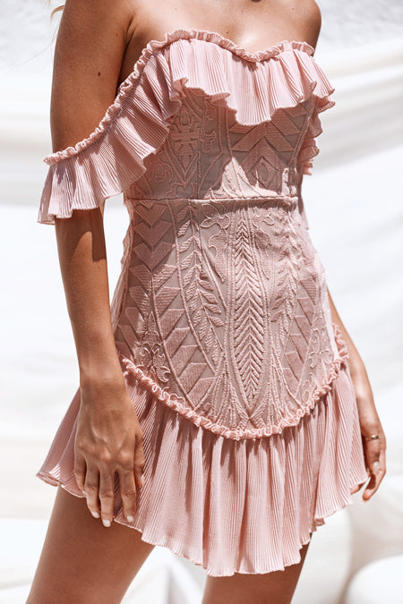 Fallen For You Dress (Blush)
