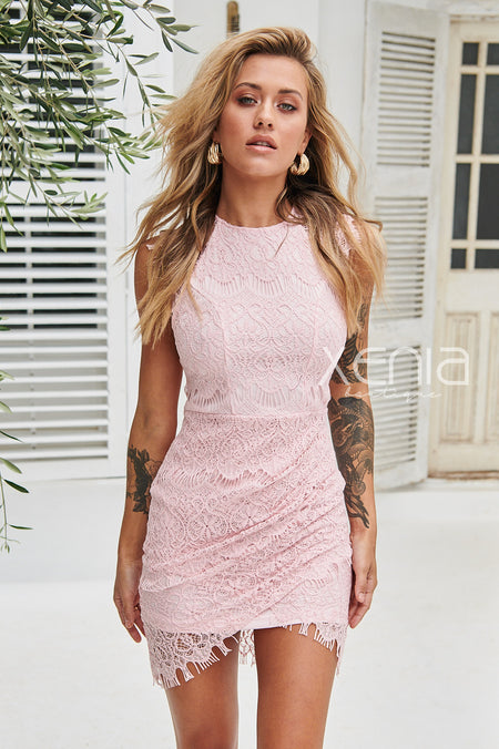Montana Dress (Rose Gold Sequin)