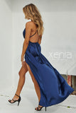 Girl On Fire Maxi Dress (Navy)