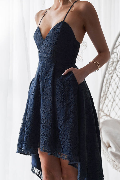 Marilyn Dress (Navy)