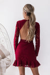 Medindie Dress (Wine)