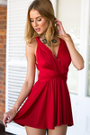 The Perfect Date Dress (Red)